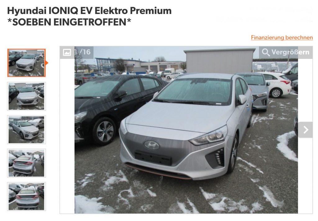 Hyundai IONIQ EV Elektro Premium *SOEBEN EINGETROFFEN*
