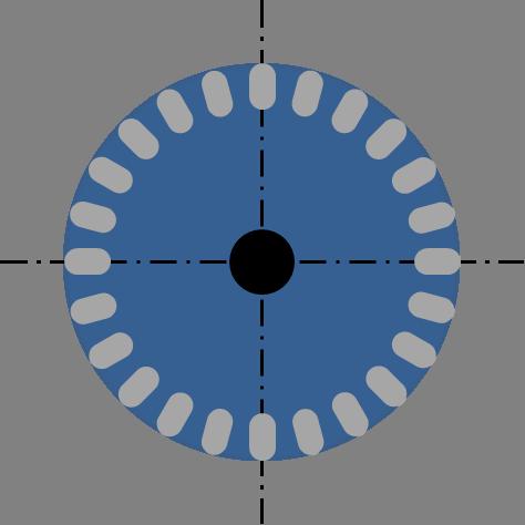Rotor eines ASM