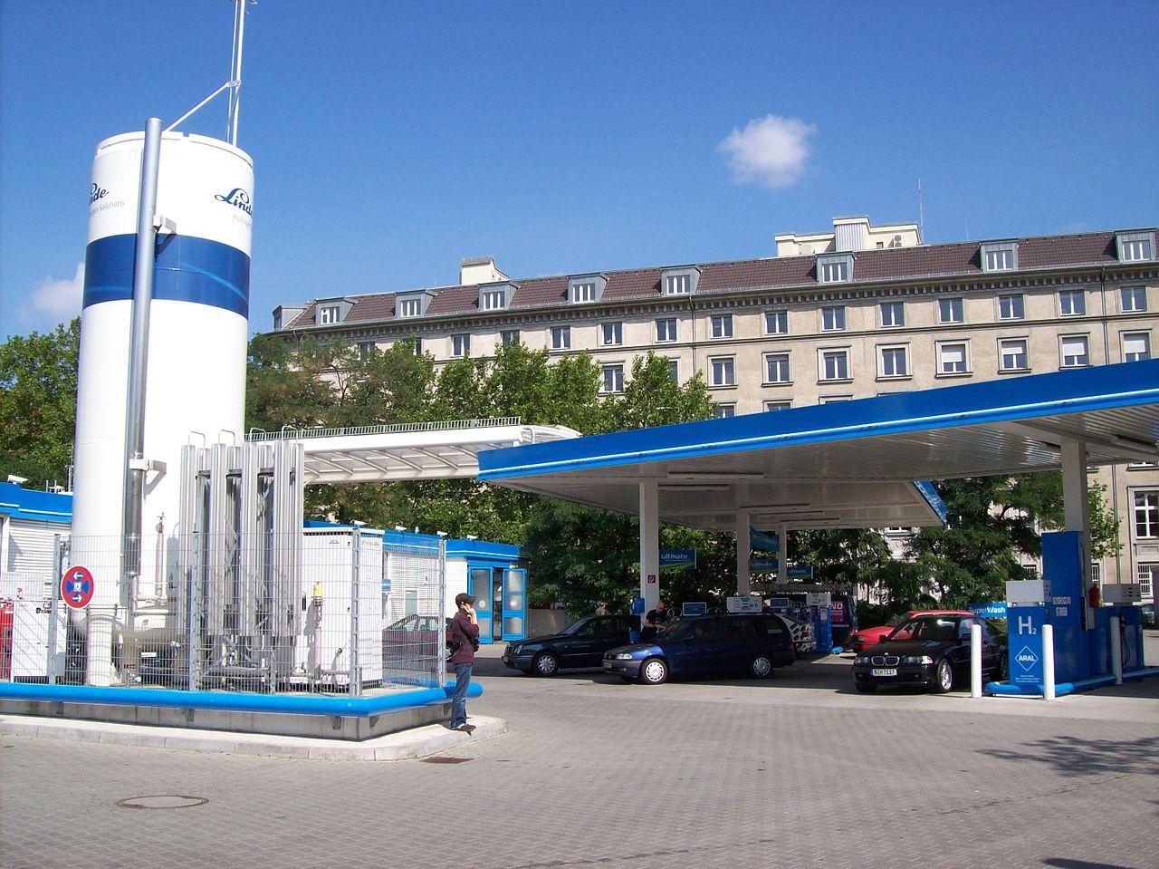 Wasserstofftankstelle in Berlin